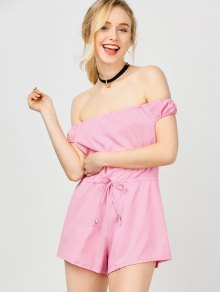 Off The Shoulder Beach Romper