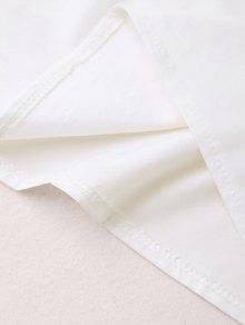 calcetines blancos con volante y lazo - show-clothingcom