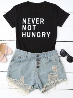 Funny Graphic T-Shirt - Black S