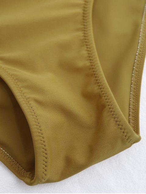 women High Cut Lace Up Swimwear - GINGER L Mobile