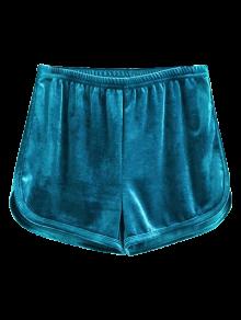 Sporty Velvet Shorts
