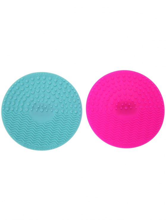 Makeup Brush Cleaning Pads - MULTICOLOR  Mobile