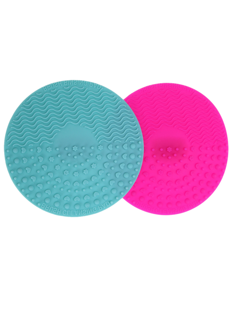 hot Makeup Brush Cleaning Pads - MULTICOLOR  Mobile