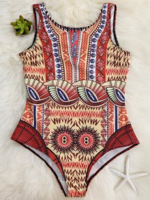 Slimming Scoop One Piece Swimsuit