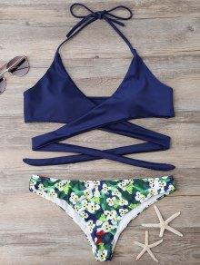 Low Rise Wrap Bikini - S