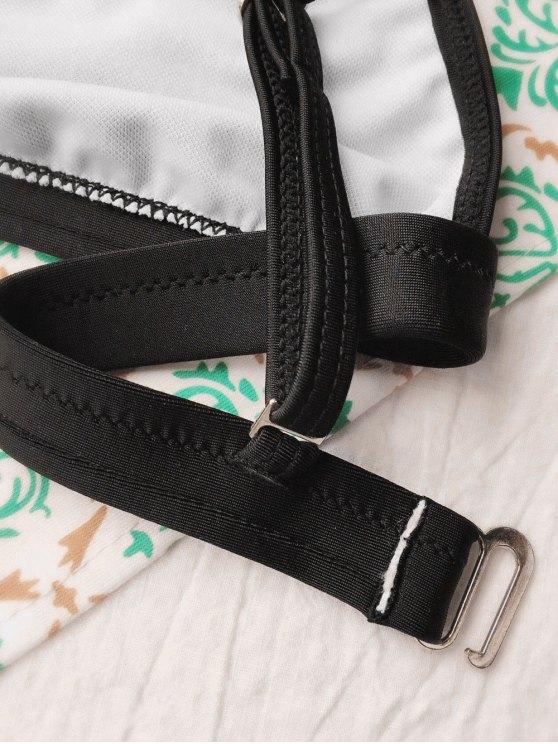 Tiny Unlined String Bikini Swimwear - BLACK M Mobile