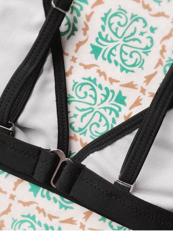 Tiny Unlined String Bikini Swimwear - BLACK S Mobile