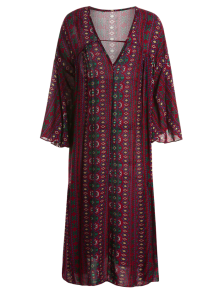 Pattern for a long sleeve dress