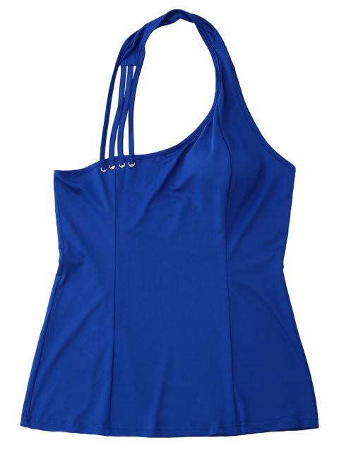 outfits Halter Strappy Tank Top - ROYAL XL Mobile