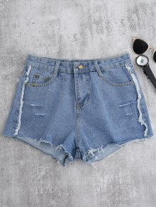 Cutoffs Ripped Shorts