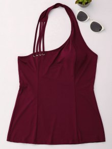 Halter Strappy Tank Top
