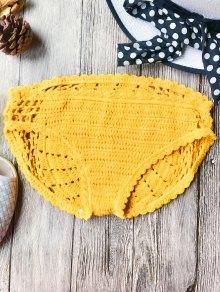 Crochet Low Waisted Bikini Bottoms