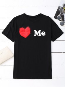 Love Me Graphic Oversized Tee