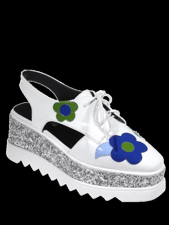 Chaussures à talons Square - Blanc 37