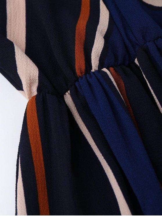 Multi Stripe Cami Midi Sundress - STRIPE S Mobile