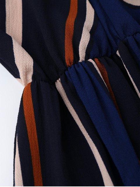 hot Multi Stripe Cami Midi Sundress - STRIPE S Mobile