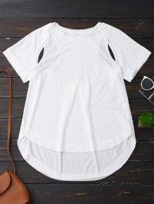 T-shirt coupe haute
