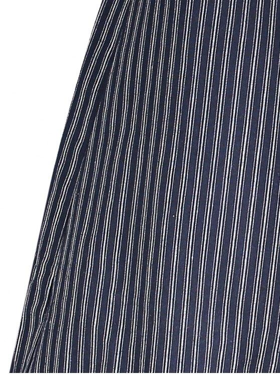 Striped Ruffle Mermaid Skirt - STRIPE ONE SIZE Mobile