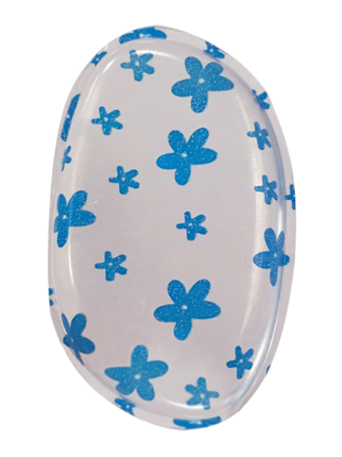 lady ONE PCS Printed Silicone Makeup Sponge - #04  Mobile