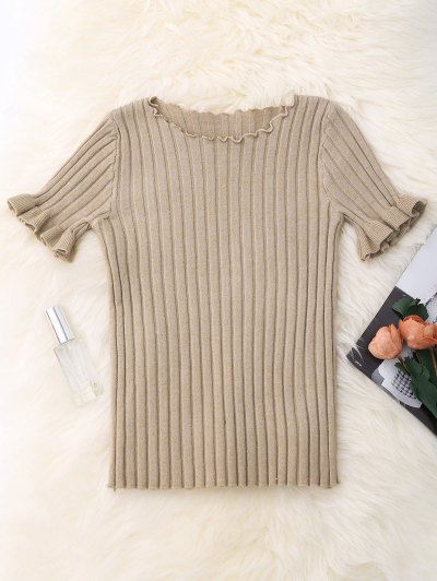 Ribbed Knitting Top