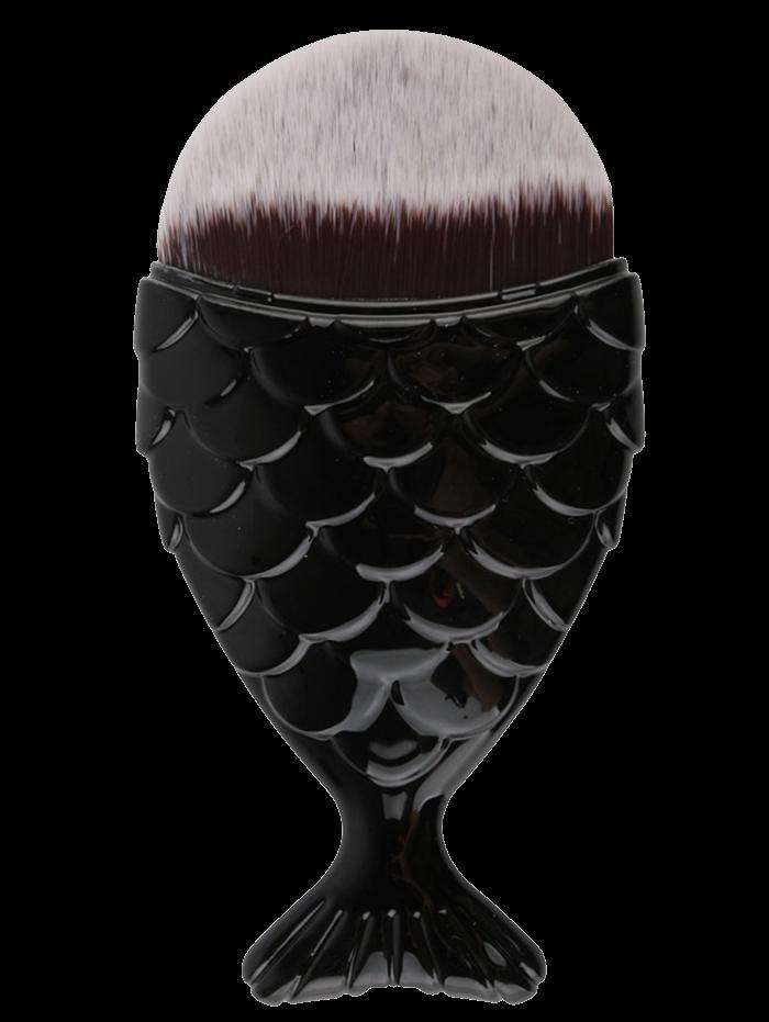 Mermaid Tail Shape Makeup Foundation Brush
