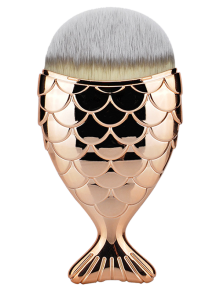 Fiber Wide Beauty Mermaid Foundation Brush