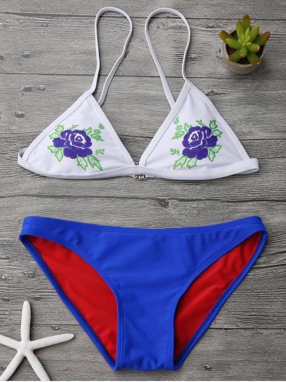 Ensemble de bikini à bas prix Cami Plunge - Blanc M