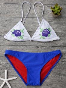 Cami Plunge Low Waisted Bikini Set