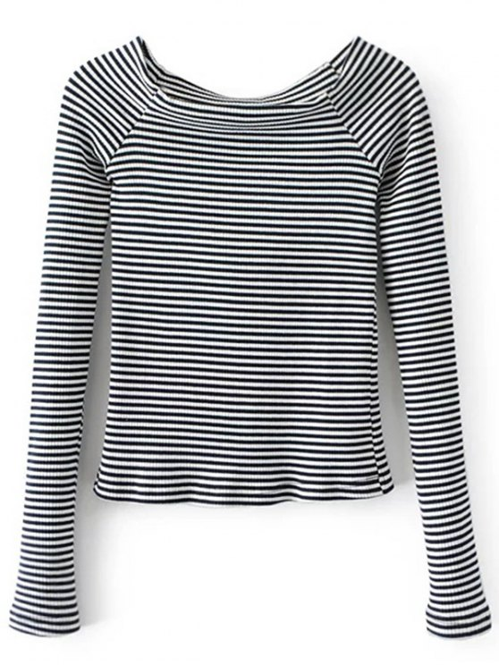 Off The Shoulder Stripes Arriba - Raya L