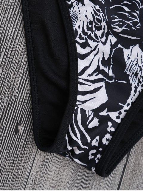 Bikini en caoutchouc - Noir S Mobile