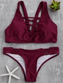 Padded Strappy Front Bikini
