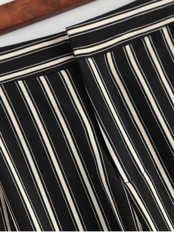 Cigarette Striped Suit Pants - STRIPE S Mobile