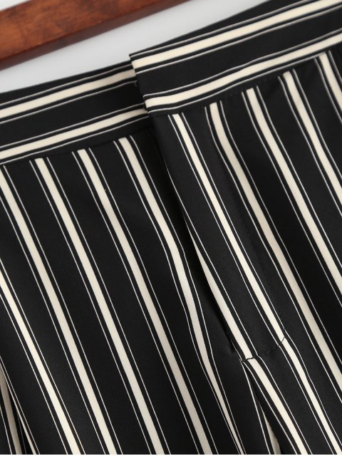 fashion Cigarette Striped Suit Pants - STRIPE S Mobile