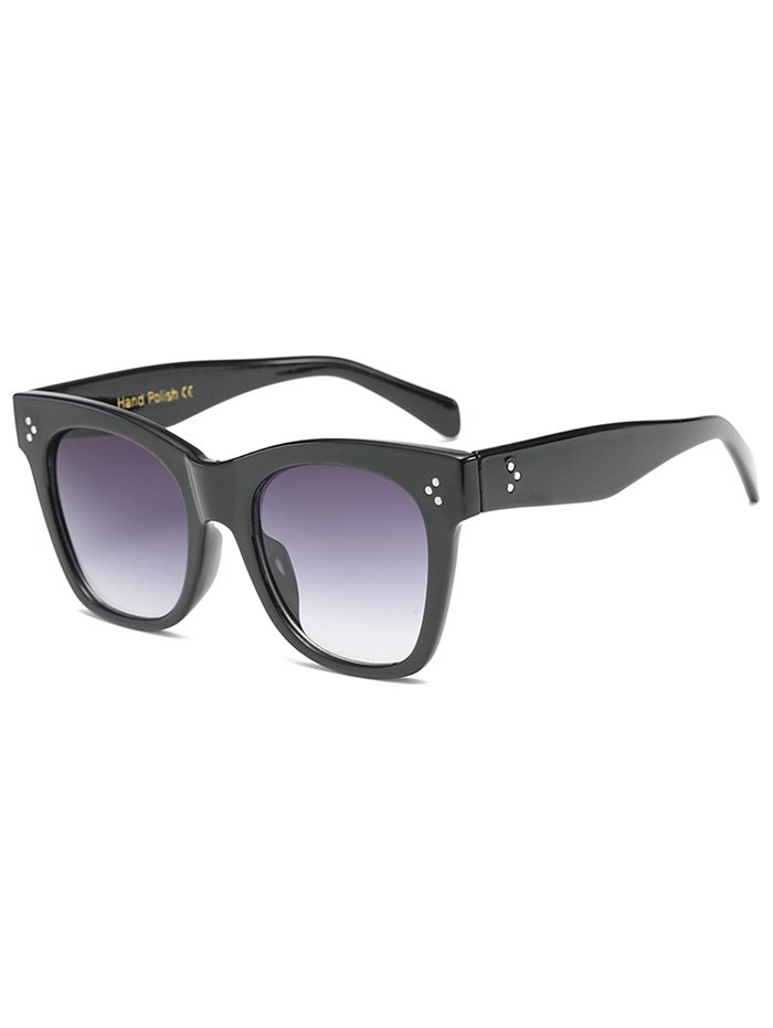 Anti UV Ombre Wide Wayfarer Sunglasses