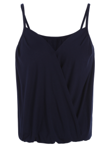 V Neck Wrap Cami Top