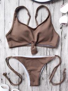 Cami Bralette String Bikini Set