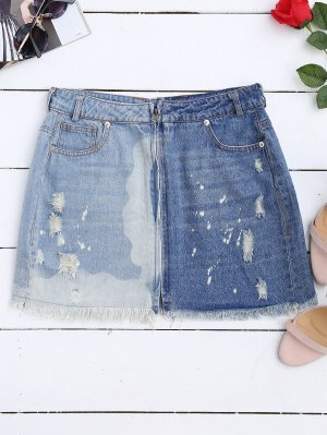 Denim Skirts Fashion Shop Trendy Style Online | ZAFUL