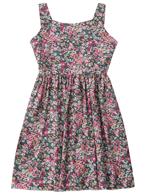 sale Floral Sleeveless Dress - FLORAL L Mobile