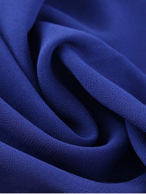 hot Islamic Muslim Chiffon Gossamer Hijab Headscarf - BLUE  Mobile