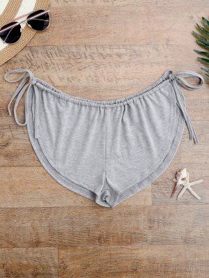 Side Tie Beach Cover Up Shorts