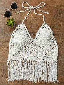 Tassels Crochet Bralette Bikini Top