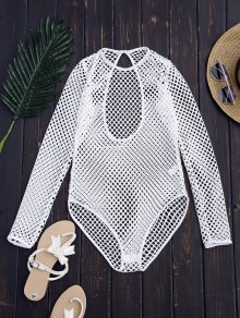 Laser Cut High Leg Bodysuit