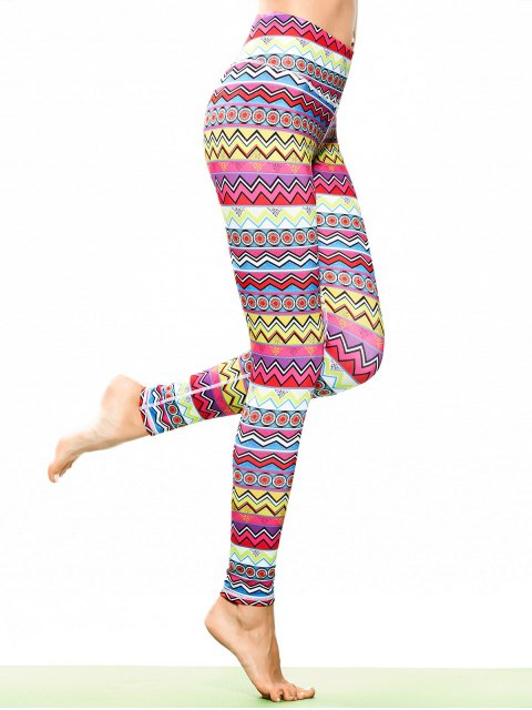 Leggings sportifs, tunique et multicolores - Multicolore S Mobile