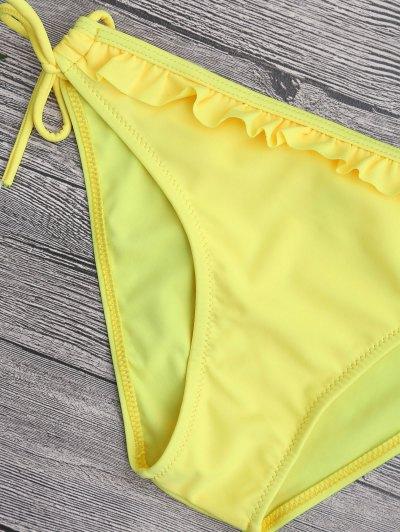 Ruffled Padded Bandeau Bikini от Zaful.com INT