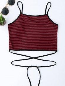 Sweat à Rayures à Rayures Stripes Stripes - Rouge