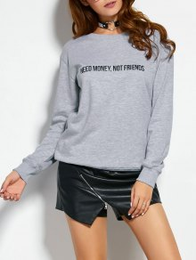 Sweatshirt With Text