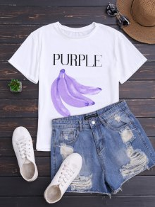 Graphic Banana Short Sleeve T-Shirt