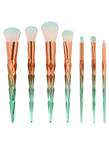 Unicorn makeup brush set boots