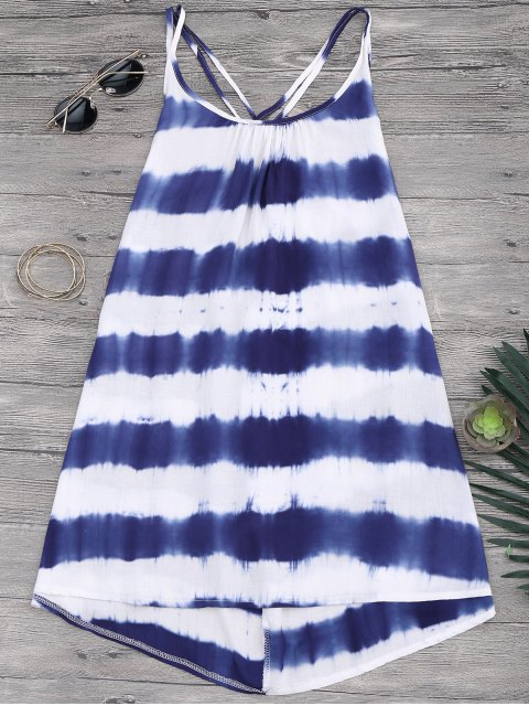 hot Cami Flowy Dress With Stripes - STRIPE XL Mobile
