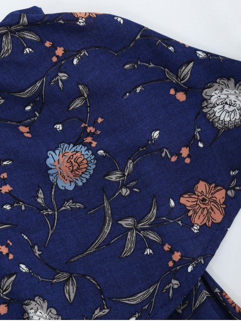 best Overlay Tiny Floral Strappless Romper - FLORAL L Mobile